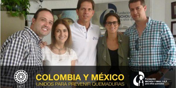 Colombia y México unidos para prevenir quemaduras
